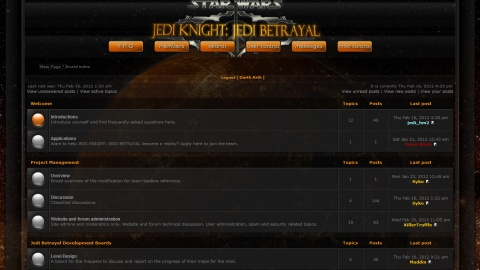 New JKB forums